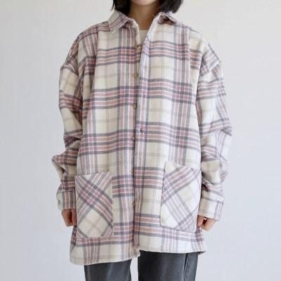 pocket vintage check shirts (3colors)_(1402762)