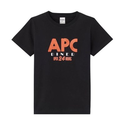아페쎄 19FW 로고 티셔츠 CODCW F26822_(920292)