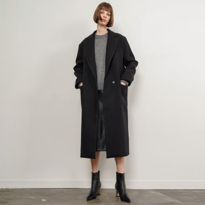Eden Single Long Coat_Black_(53541)