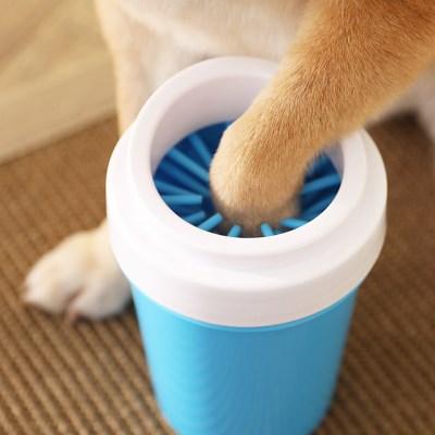 깨끗하개 강아지 발세척컵