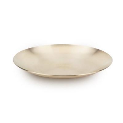 순수담 방짜유기 원형 접시 중_(1237702)
