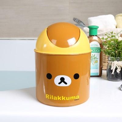 리락쿠마 원형휴지통(미니)