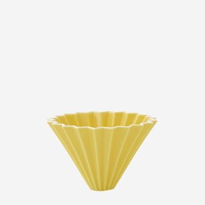 오리가미 도자기 커피드리퍼 S 1-2인용 옐로우_(1453904)