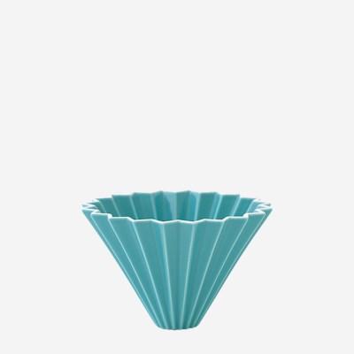오리가미 도자기 커피드리퍼 S 1-2인용 타코이즈 블루_(1453903)