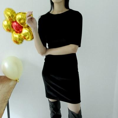 velvet soft mini dress (2colors)_(1407008)