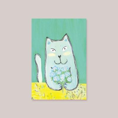 캘리엠 고양이카드(mk2502)