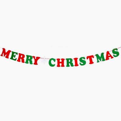 크리스마스장식 크리스마스 펠트 가랜드