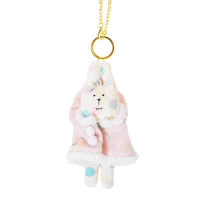 크래프트홀릭 Fluffy RAB KEY RING