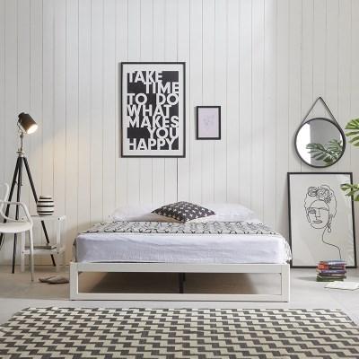 엘리브 DIY 원목침대 독립스프링 침대세트 퀸 기본형 sy637