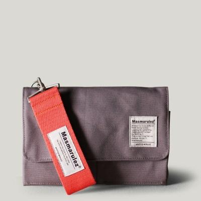 S mini pocket cross bag _ Gray