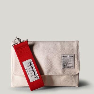 S mini pocket cross bag _ Ivory