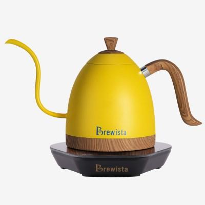 브뤼스타 전기드립포트 브라질 옐로우