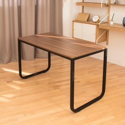 [리코베로] 라운딩 다용도 철제 책상 테이블 1200 2컬러