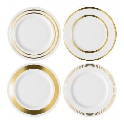 LSA 데코 골드 디너 플레이트 접시 4P 세트 28cm_(911244)