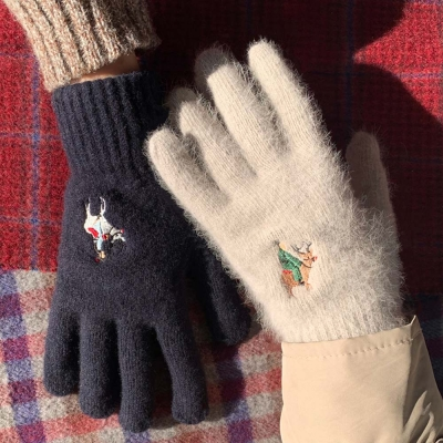 [couple set] Christmas in Joseon gloves (wool)
