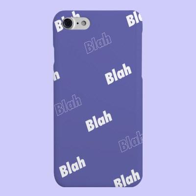 [헬로래빗]블라블라 퍼플 하드 핸드폰 케이스