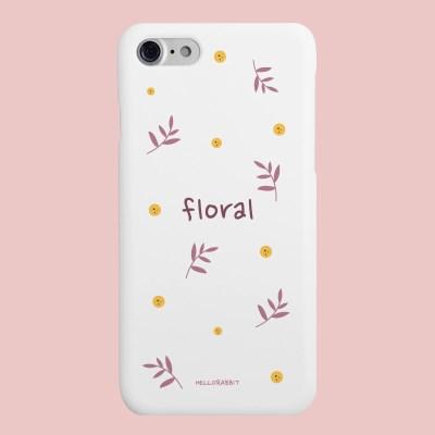 [헬로래빗]플로럴  하드 핸드폰 케이스