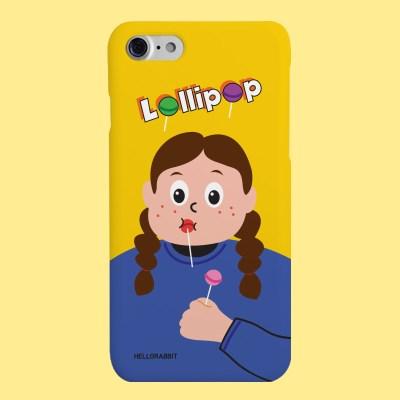 [헬로래빗]롤리팝 걸 하드 핸드폰케이스