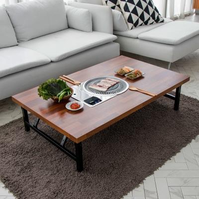 [리코베로]가정용 철제 접이식 불판테이블 1200 김건모테이블 3컬러