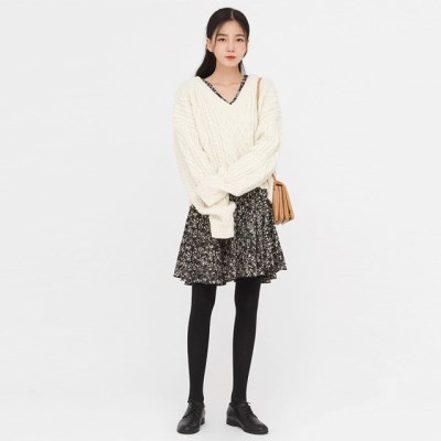 grove wool cable knit_(1410557)