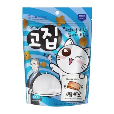 고집 고양이 간식 연어맛 60g_(1210232)