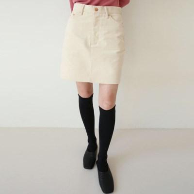 runa corduroy mini skirts (s, m)_(1411006)