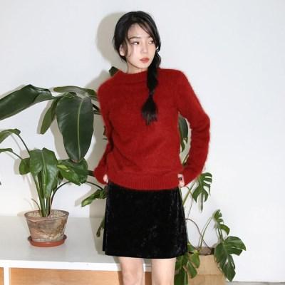 a point angora wool knit_(1411000)