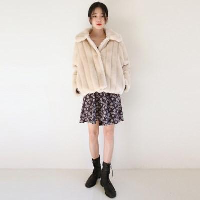a feminine line fur jacket_(1410994)