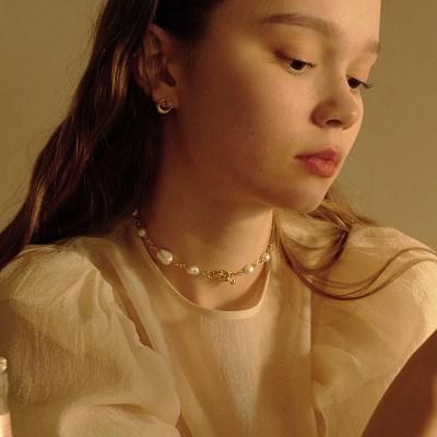 Pebble Orbit Necklace