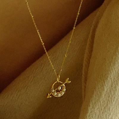Lune Cupid Necklace