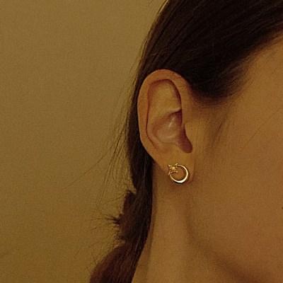 Lune Etoile Earring