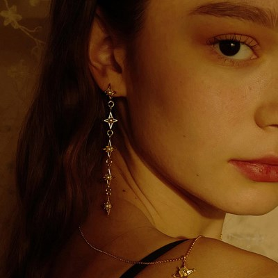 Brillant Drop Earring