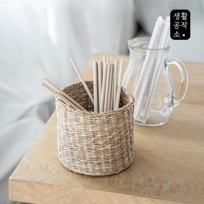 [생활공작소] 대나무 섬유 빨대 20개입_(997211)