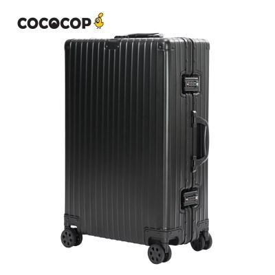 코코캅 델라2 24인치 수화물 블랙 알루미늄 100% 여행용 캐리어