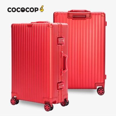코코캅 델라2 20인치 기내용 레드 알루미늄 100% 여행용 캐리어