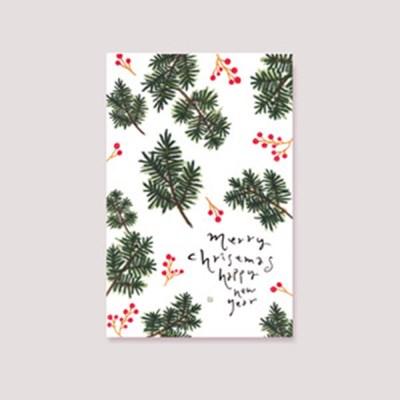 캘리엠 MERRY CHRISTMAS 캘리그라피 크리스마스카드