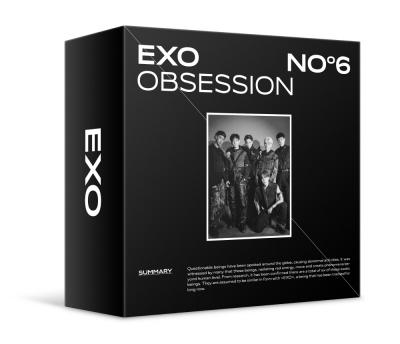 Kit Ver./포스터/EXO(엑소) - 정규 6집 OBSESSION