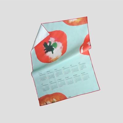 누키트 토마토 2020 패브릭달력