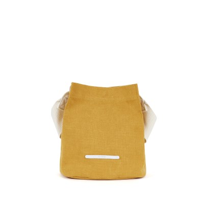 [로우로우] CROSS SHOULDER 711 WAX CANVAS MUSTARD_(745325)