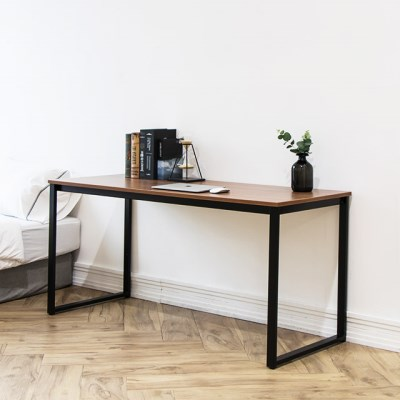 [채우리] 쿠드 1500 블랙 철제 책상/테이블
