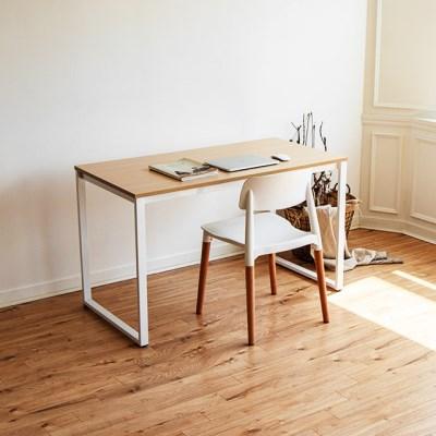 [채우리] 쿠드 1200 화이트 철제 책상/테이블
