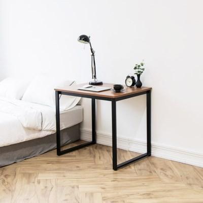 [채우리] 쿠드 800 블랙 철제 책상/테이블