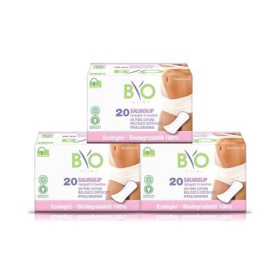 비오인티마 100% 유기농 약국생리대 팬티라이너 3팩