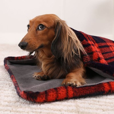 CHARCOAL  CHECK FUR BLANKET