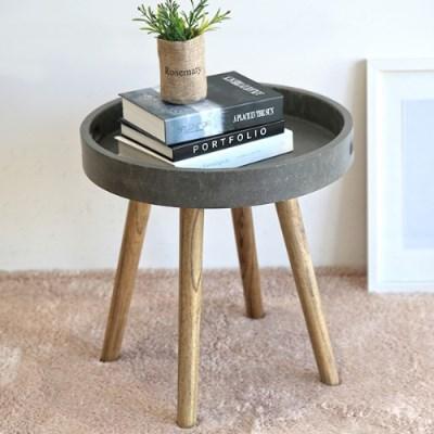 콘크리트 트레이 테이블