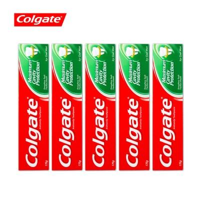 콜게이트 치약 쿨민트 175g 5개_(1549697)