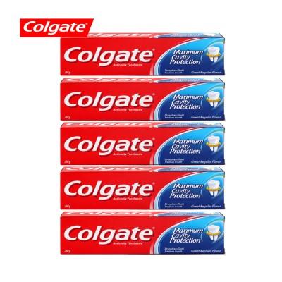 콜게이트 치약 레귤러 250g 5개_(1549695)