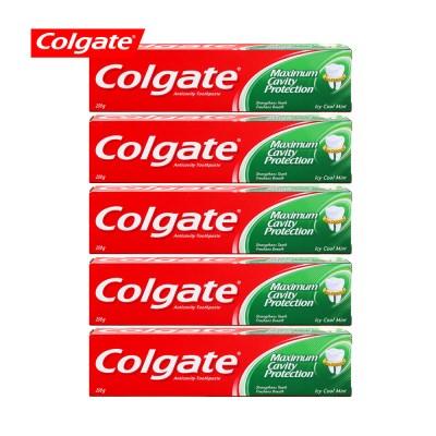 콜게이트 치약 쿨민트 250g 5개_(1549694)