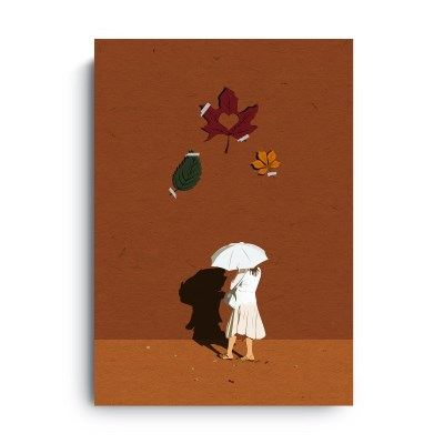 Fromsky A5 미니 포스터 (Autumn Memory)