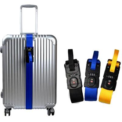TSA 캐리어 잠금벨트 무게측정 도난방지 자물쇠_(2313834)